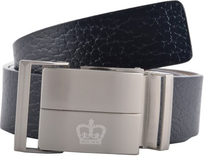GLB Boys, Men Casual, Party, Formal, Evening Black Genuine Leather Belt