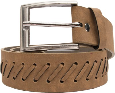 Urban Navy Men Casual Beige Artificial Leather Belt