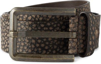 Peter England Men Casual Brown Genuine Leather Belt