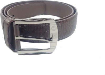 BMDC Men Brown Artificial Leather Belt