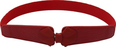 Naitik Products Women Casual Red, Red Synthetic Belt