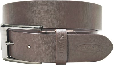 Hadwin Men Formal Brown Genuine Leather Belt