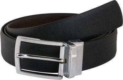 Vinson Massif Men, Boys Formal, Party, Casual, Evening Grey Genuine Leather Reversible Belt