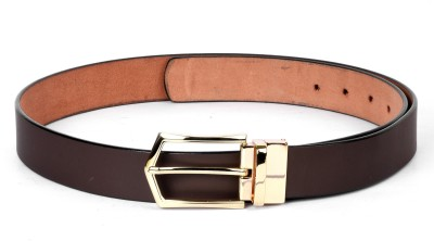 Buckleup Men Brown Genuine Leather Belt