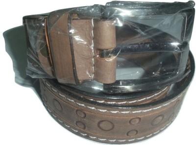 EVG Boys, Men Brown Genuine Leather Belt