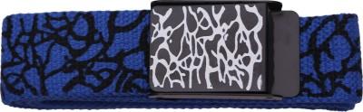 Stylehoops Boys, Men, Girls, Women Casual Blue Artificial Leather Belt