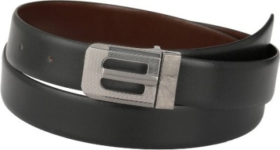 Jupiter Men Formal Black, Brown Texas Leatherite Reversible Belt