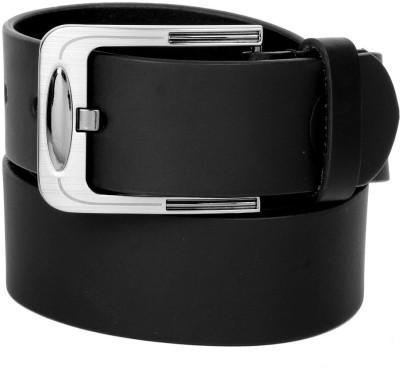 Clayton Men Casual Black Genuine Leather Belt