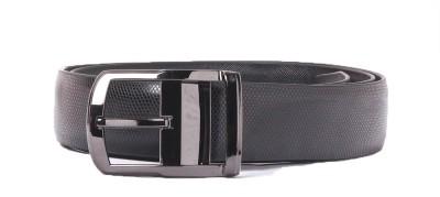 Heaven Deal Men Casual Black Artificial Leather Belt