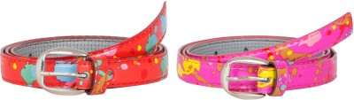 Mdr Collections Girls Casual Multicolor Artificial Leather Belt