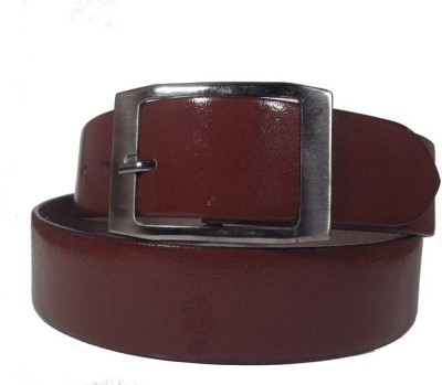 FRONEX INDIA Men Brown Genuine Leather Belt