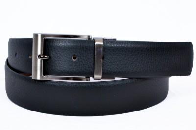 Izma Men Formal Black Genuine Leather Reversible Belt