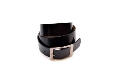 adglee Boys, Men Party, Formal, Casual, Evening Black Genuine Leather Belt