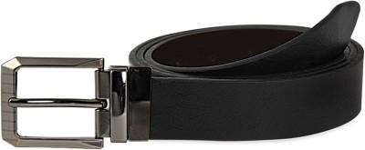 Snowfinch Men, Boys Formal, Casual Black, Brown Genuine Leather Reversible Belt