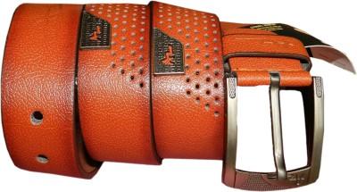 GINWALA Boys, Men Casual Brown Genuine Leather Belt