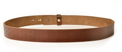 Kassa Men, Women, Boys, Girls Casual Brown Genuine Leather Belt