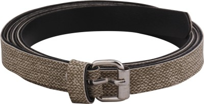 Mdr Collections Girls Casual Khaki Artificial Leather Belt