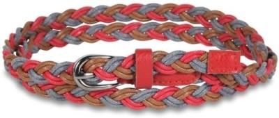 Aadaana Casual Multicolor Artificial Leather Belt