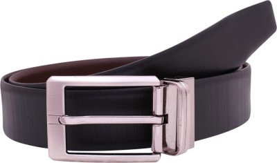 KOLT Men Black, Brown Genuine Leather Reversible Belt