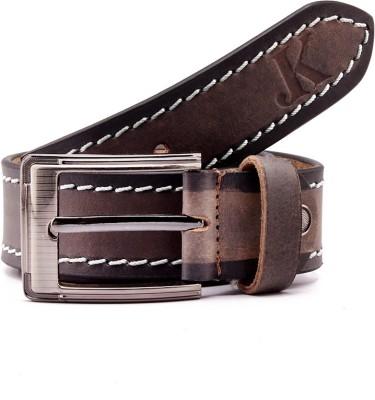 Junckers Men, Boys Casual, Party, Evening, Evening Black Genuine Leather Belt