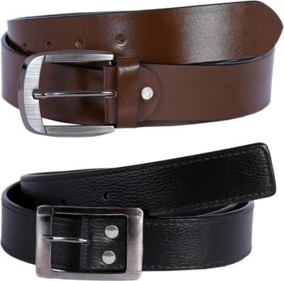 Hardys Men Multicolor Genuine Leather Belt