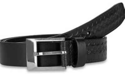 Paradigm Design Lab Men Casual Black Genuine Leather Belt