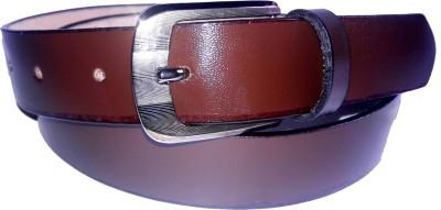 NANYUAN Men Brown Genuine Leather Belt