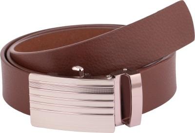 Vinson Massif Men Formal, Casual, Evening Brown Genuine Leather Belt