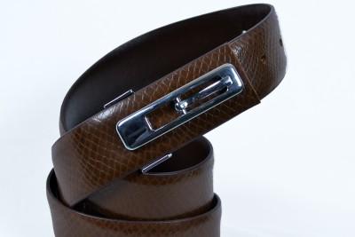 Izma Men Formal Brown Genuine Leather Belt