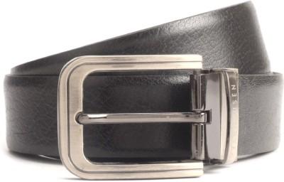 Van Heusen Men Black, Brown Reversible Belt