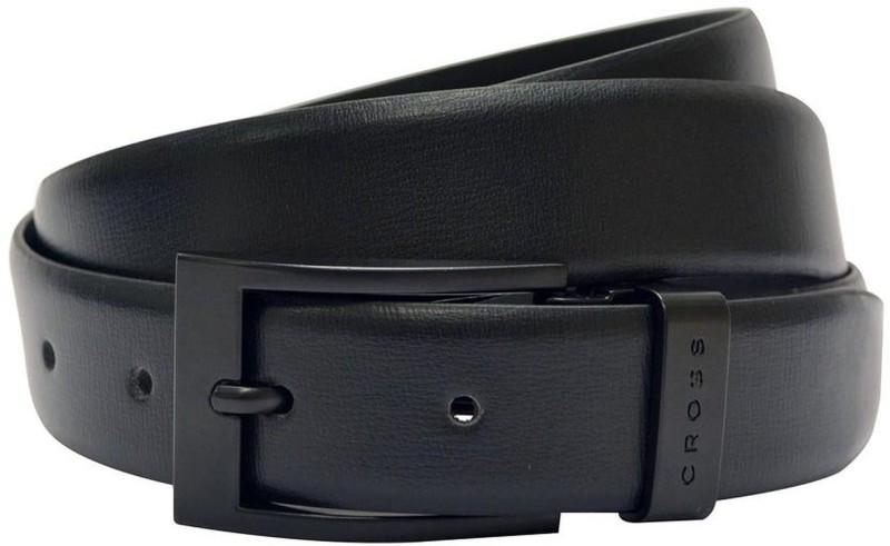 Cross Men Casual, Formal, Party Black Genuine Leather Belt