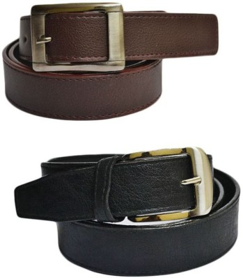 KRG ENTERPRISES Men, Boys Casual Multicolor Genuine Leather Belt