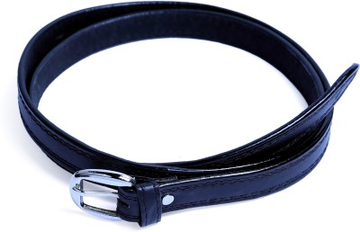Contra Girls Black Artificial Leather Belt