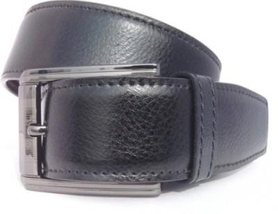 Ruchiworld Boys, Men Formal Black Synthetic Belt