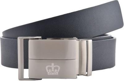 GLB Boys, Men Casual, Formal, Evening, Party Black Genuine Leather Belt