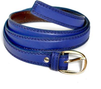 VICTORIA SECRET INDIA Girls, Women Blue Artificial Leather Belt