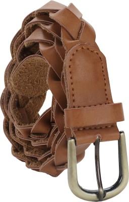 Jainsons Women Casual Brown Genuine Leather Belt