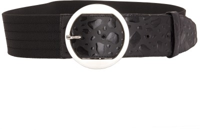 Beauties Bliss Girls, Women Casual Black Artificial Leather Belt