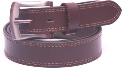 NC Men Formal Brown Genuine Leather Belt