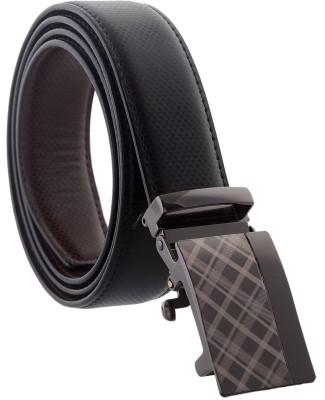 Accessorize Boys, Men Formal, Party Black Genuine Leather Reversible Belt