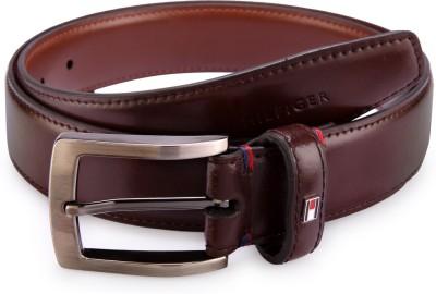 Tommy Hilfiger Men Formal Brown Synthetic Belt