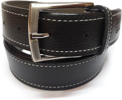 Exclusive Luks Men Casual Black Artificial Leather Belt