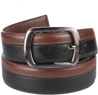 Lenin Men Evening Black Genuine Leather Belt