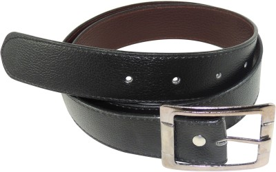 RABARMAN Men Formal Black Artificial Leather Belt
