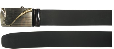 Mars And Venus Boys, Men, Girls, Women Formal, Party, Casual Black Genuine Leather Belt