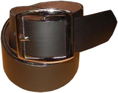 Ansari Men Casual Black Canvas Belt