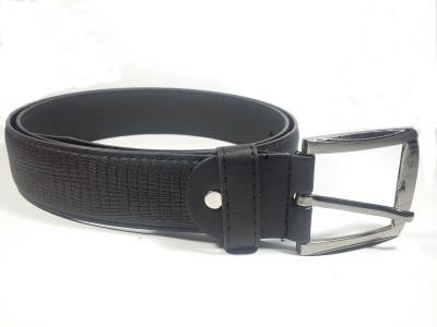 BMDC Men Black Artificial Leather Belt