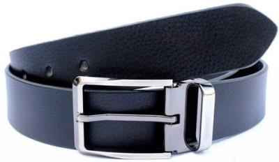 Ocean Enterprises Men Formal Black Genuine Leather Belt