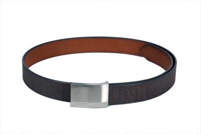 Ligans Ny Men Formal Brown Genuine Leather Belt