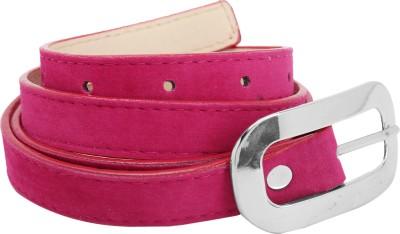Aadaana Women Casual Maroon Artificial Leather Belt